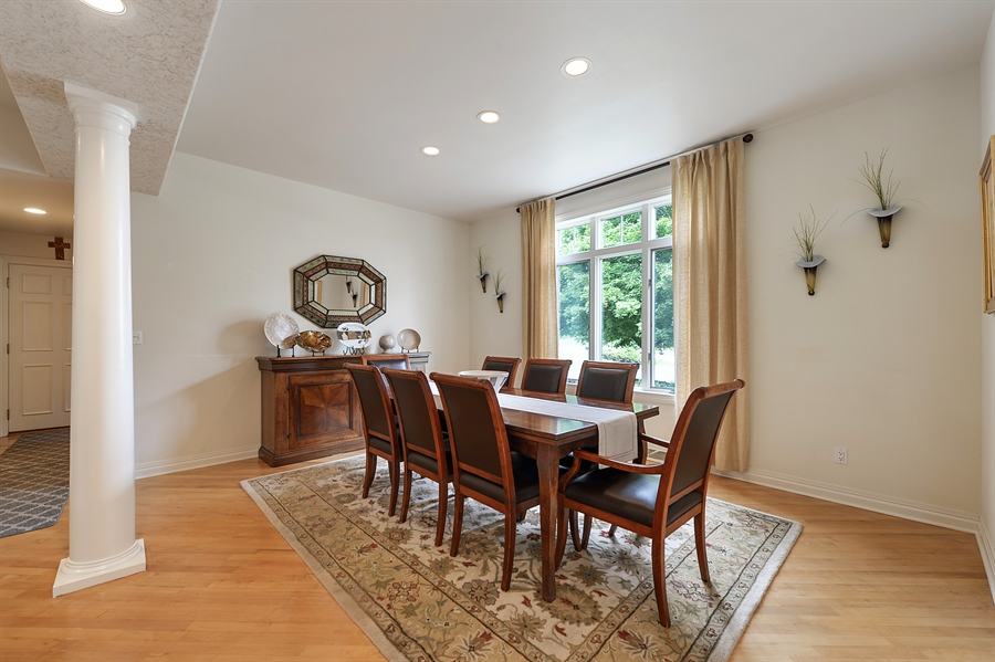 Real Estate Photography - n17w30595 woodland hill drive, delafield, WI, 53018 - Dining Room