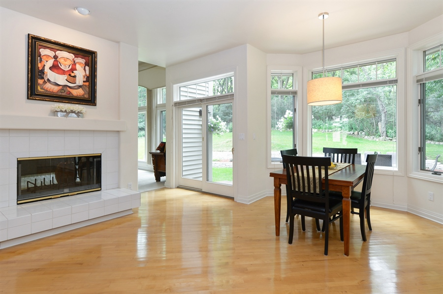 Real Estate Photography - n17w30595 woodland hill drive, delafield, WI, 53018 - Breakfast Area