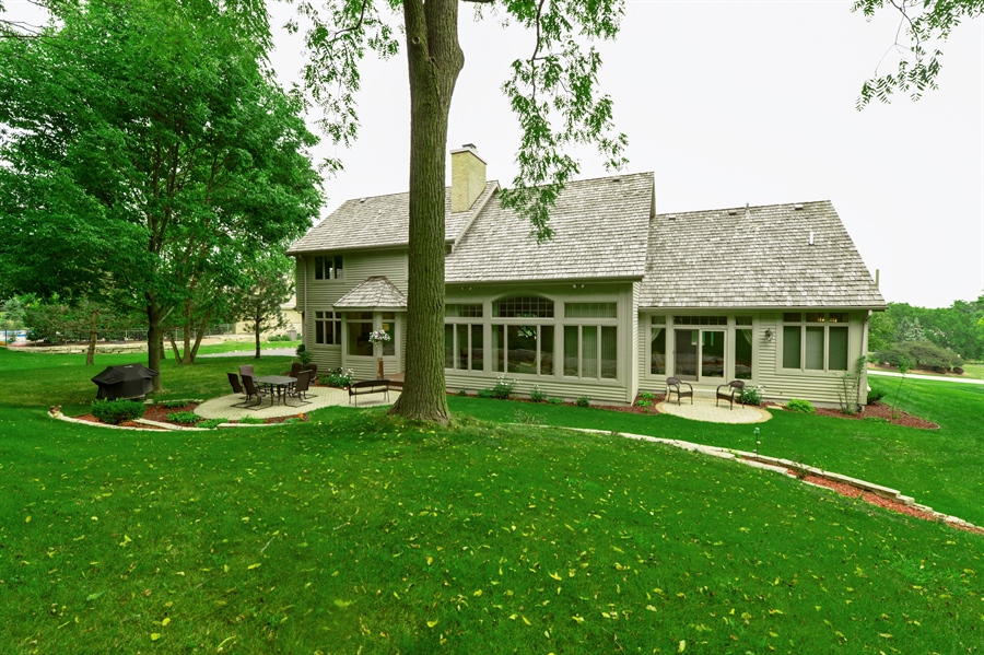 Real Estate Photography - n17w30595 woodland hill drive, delafield, WI, 53018 - Rear View