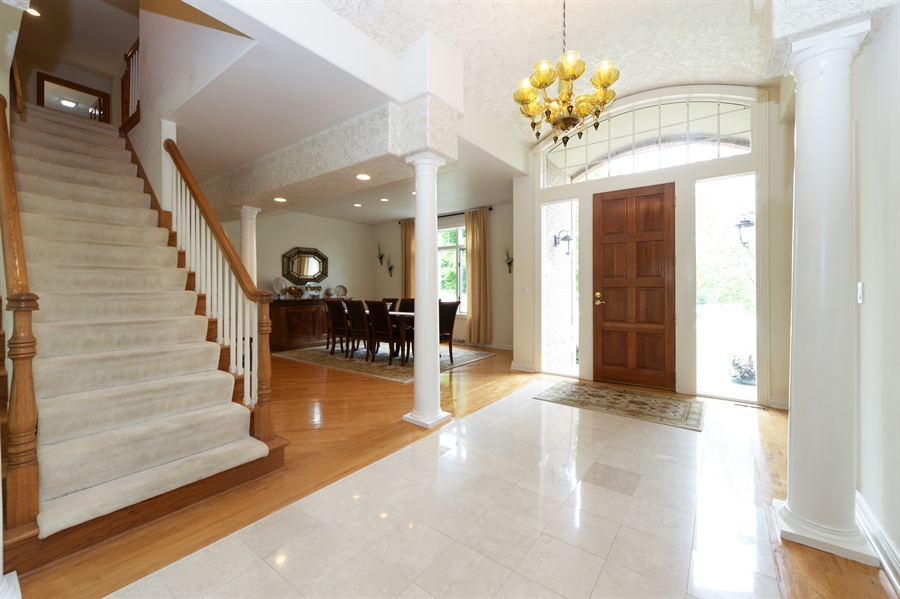 Real Estate Photography - n17w30595 woodland hill drive, delafield, WI, 53018 - Staircase