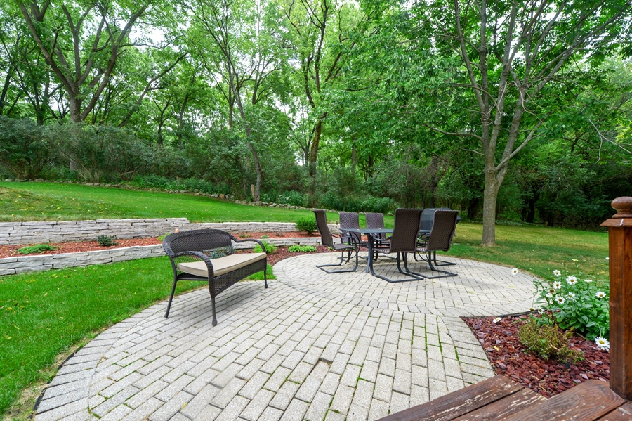 Real Estate Photography - n17w30595 woodland hill drive, delafield, WI, 53018 - Patio