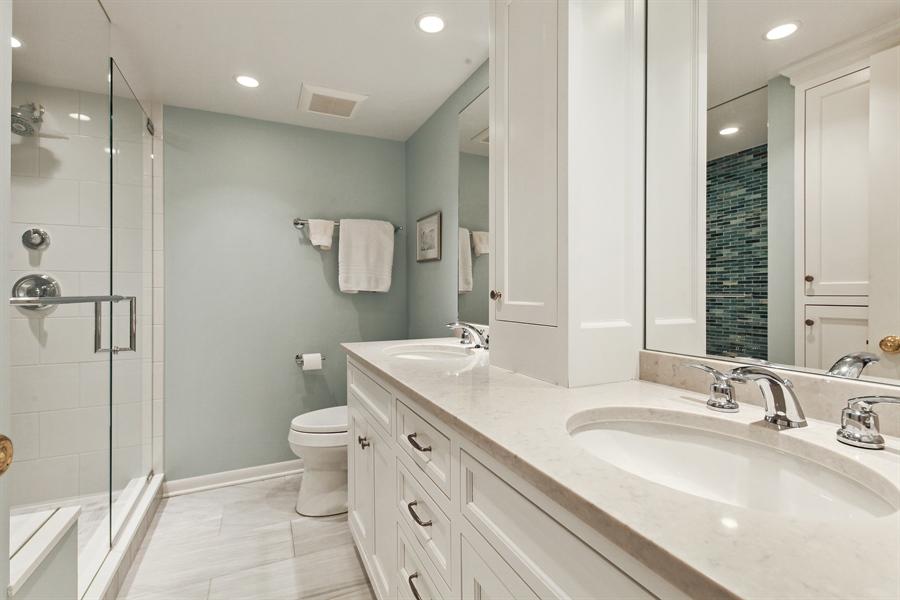 Real Estate Photography - 630 Winnetka Mews, Winnetka, IL, 60093 - Master Bathroom