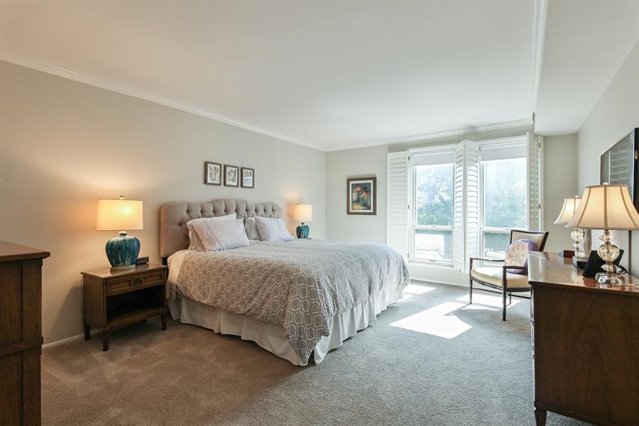Real Estate Photography - 630 Winnetka Mews, Winnetka, IL, 60093 - Master Bedroom