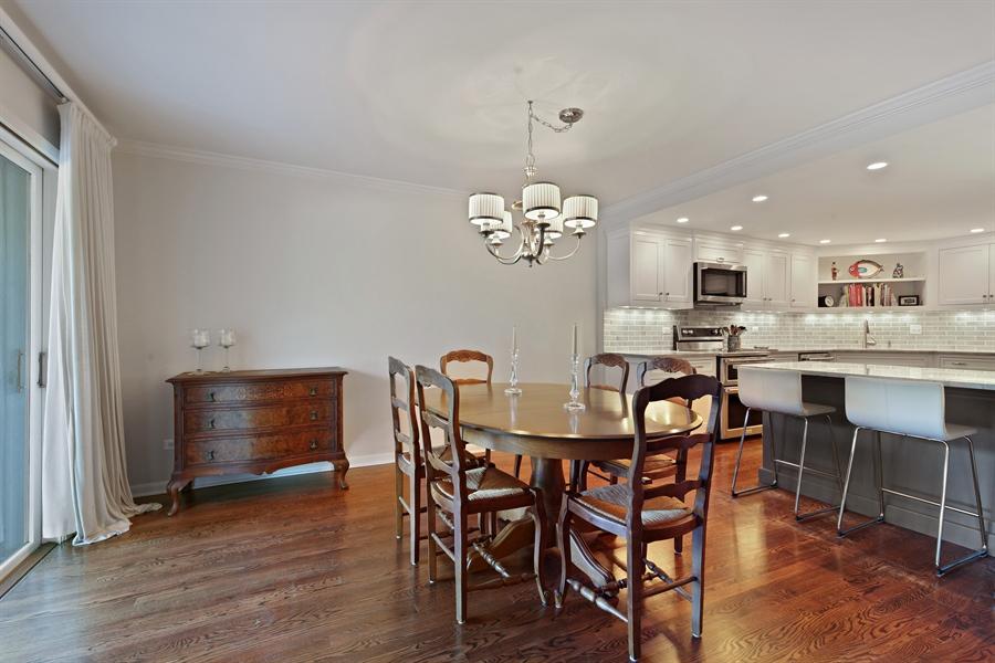 Real Estate Photography - 630 Winnetka Mews, Winnetka, IL, 60093 - Dining Room