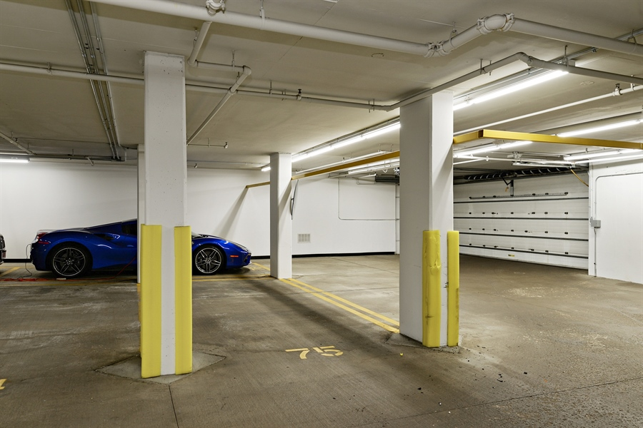 Real Estate Photography - 30 W Oak St, 6F, Chicago, IL, 60610 - Garage