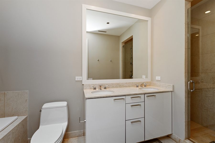 Real Estate Photography - 30 W Oak St, 6F, Chicago, IL, 60610 - Bathroom