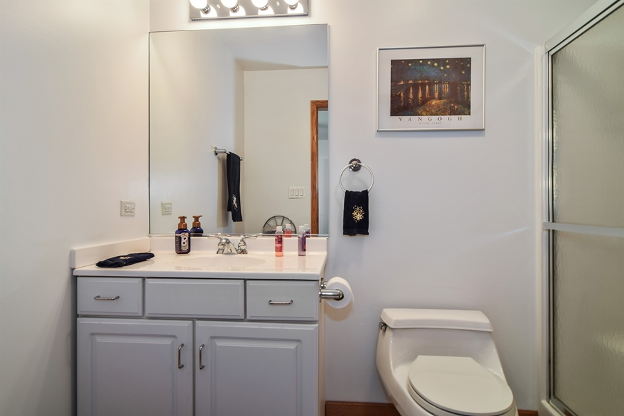 Real Estate Photography - 4N234 Central Ave, Addison, IL, 60101 - 3rd Bathroom