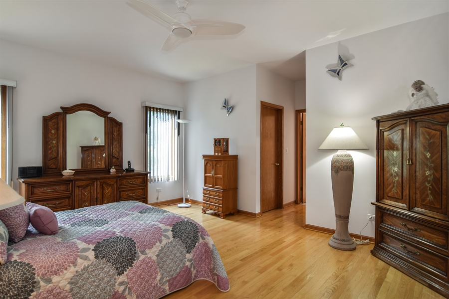 Real Estate Photography - 4N234 Central Ave, Addison, IL, 60101 - Master Bedroom