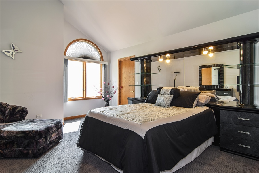 Real Estate Photography - 4N234 Central Ave, Addison, IL, 60101 - Guest Bedroom
