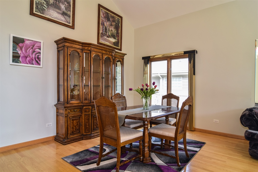 Real Estate Photography - 4N234 Central Ave, Addison, IL, 60101 - Dining Room