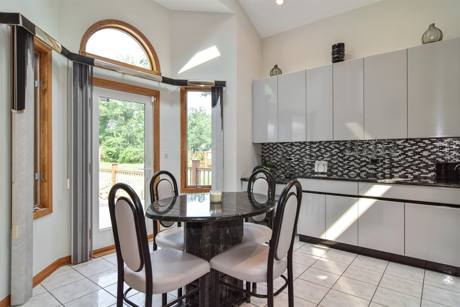 Real Estate Photography - 4N234 Central Ave, Addison, IL, 60101 - Breakfast Nook