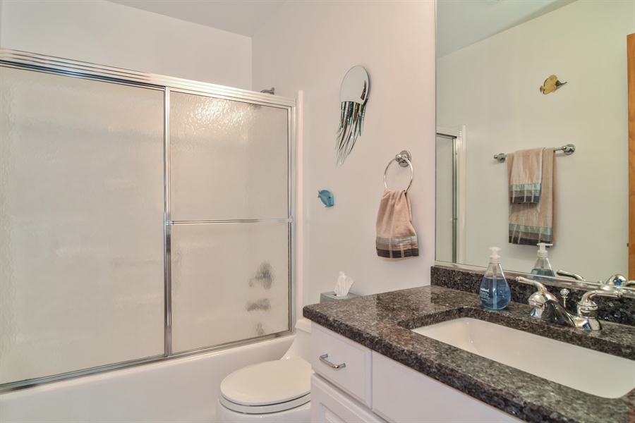 Real Estate Photography - 4N234 Central Ave, Addison, IL, 60101 - 2nd Bathroom