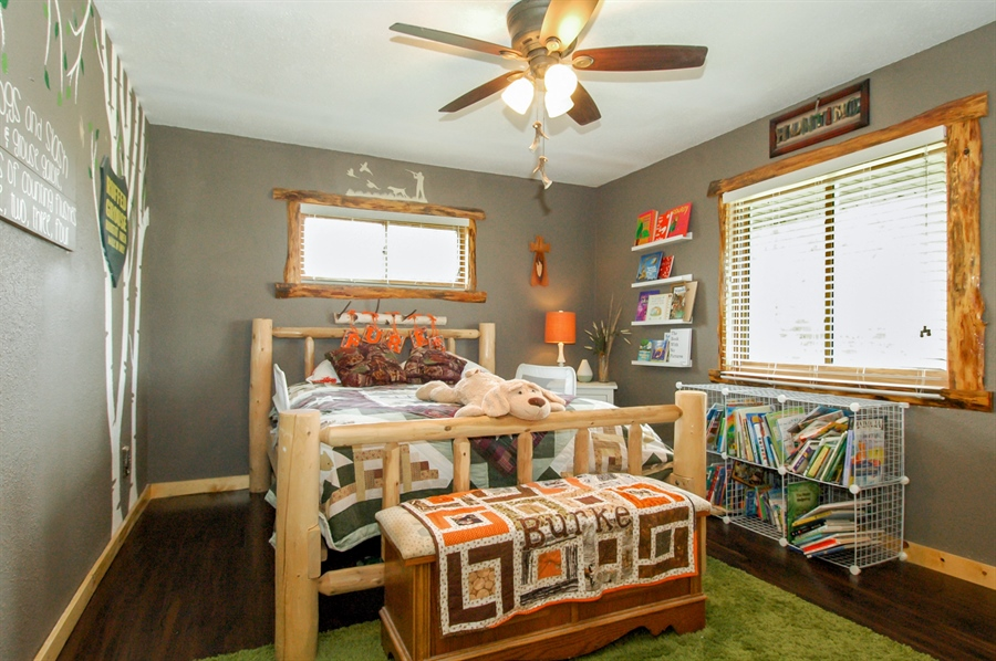 Real Estate Photography - W3839 State Road 33, Horicon, WI, 53032 - 2nd Bedroom