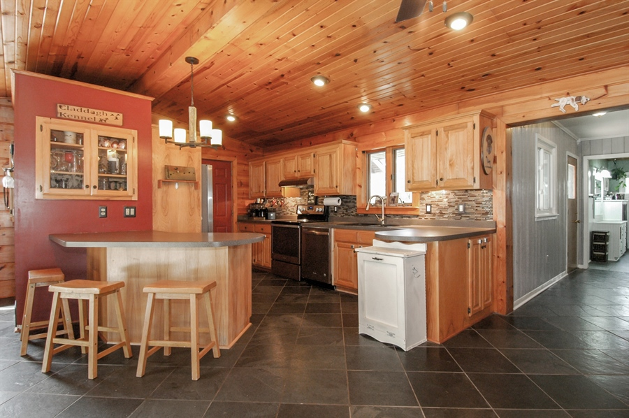 Real Estate Photography - W3839 State Road 33, Horicon, WI, 53032 - Kitchen