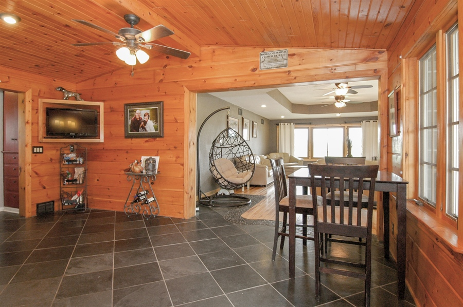 Real Estate Photography - W3839 State Road 33, Horicon, WI, 53032 - Dining Area