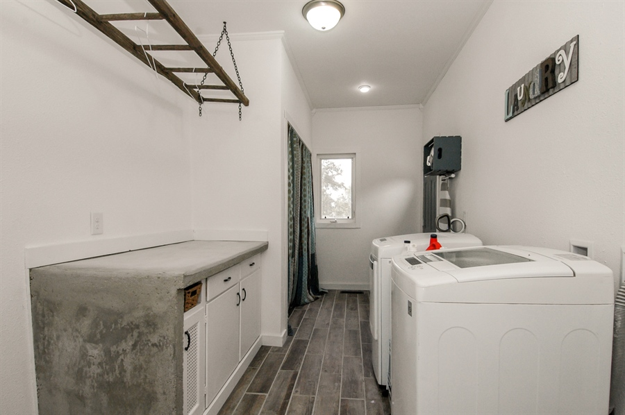 Real Estate Photography - W3839 State Road 33, Horicon, WI, 53032 - Laundry Room