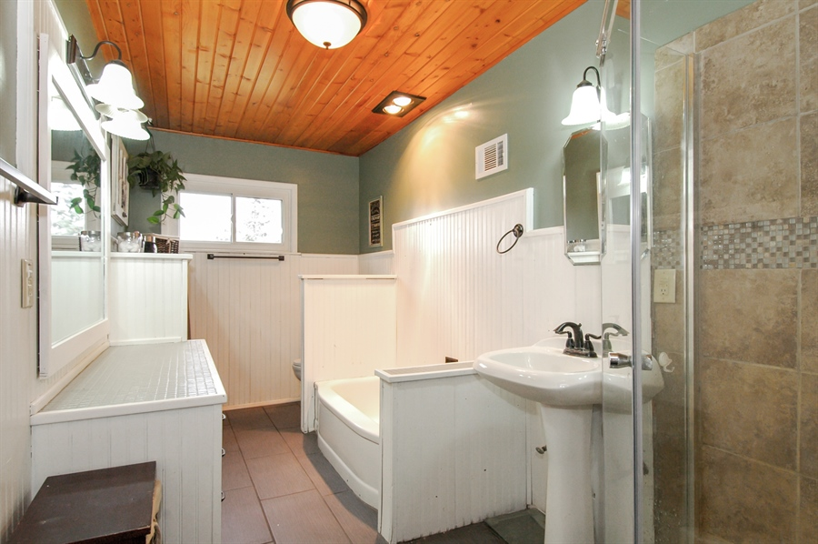 Real Estate Photography - W3839 State Road 33, Horicon, WI, 53032 - Bathroom