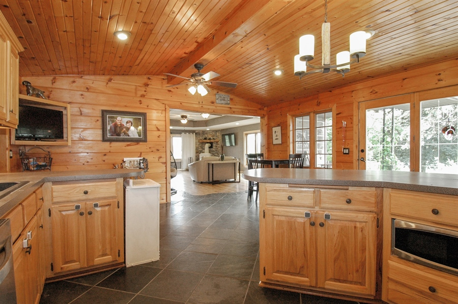 Real Estate Photography - W3839 State Road 33, Horicon, WI, 53032 - Kitchen / Living Room