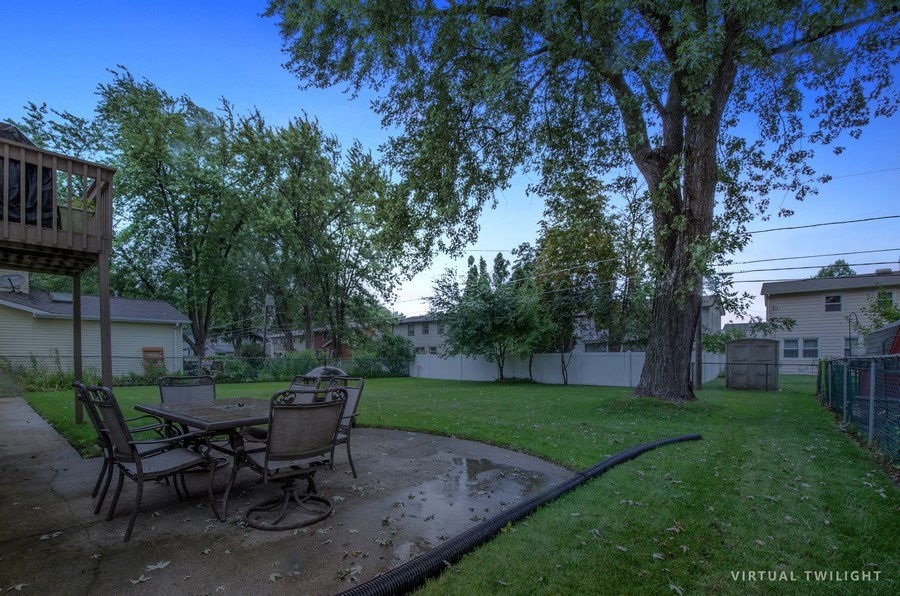 Real Estate Photography - 1419 Cypress Dr, Mount Prospect, IL, 60056 - Back Yard
