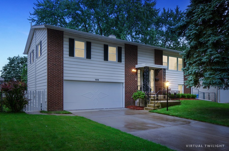 Real Estate Photography - 1419 Cypress Dr, Mount Prospect, IL, 60056 - Front View