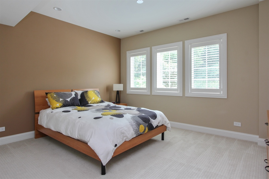 Real Estate Photography - 205 Beech Dr, Lake Zurich, IL, 60047 - 2nd Bedroom