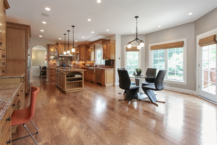Real Estate Photography - 205 Beech Dr, Lake Zurich, IL, 60047 - Kitchen