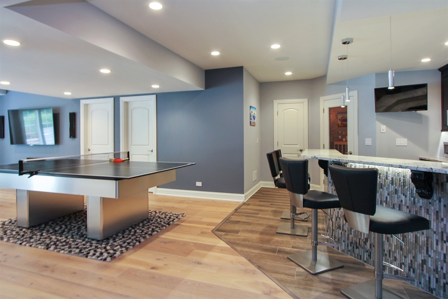 Real Estate Photography - 205 Beech Dr, Lake Zurich, IL, 60047 - Basement