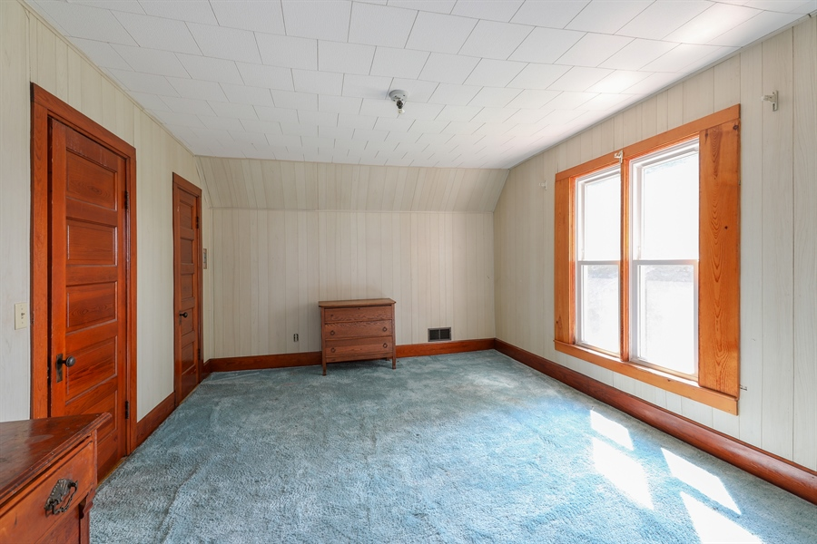 Real Estate Photography - 424 prairie, BEECHER, IL, 60401 - 2nd Bedroom