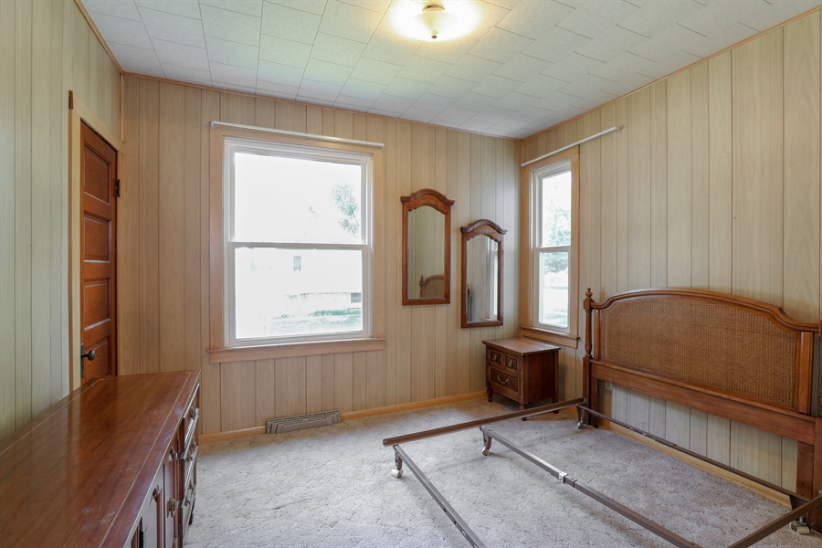 Real Estate Photography - 424 prairie, BEECHER, IL, 60401 - Bedroom