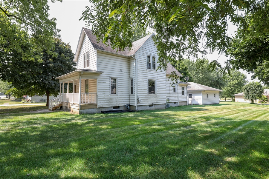 Real Estate Photography - 424 prairie, BEECHER, IL, 60401 - Rear View