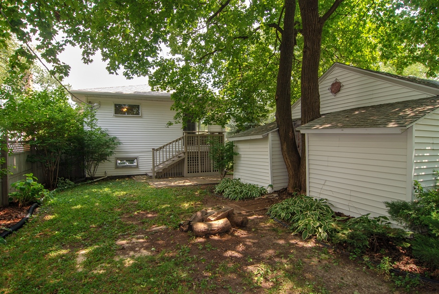 Real Estate Photography - 3438 McCormick Avenue, Brookfield, IL, 60513 - Rear View