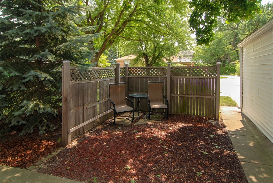 Real Estate Photography - 3438 McCormick Avenue, Brookfield, IL, 60513 - Back Yard Patio