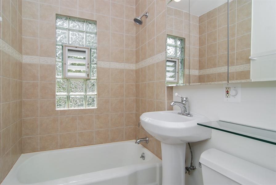 Real Estate Photography - 3438 McCormick Avenue, Brookfield, IL, 60513 - Bathroom