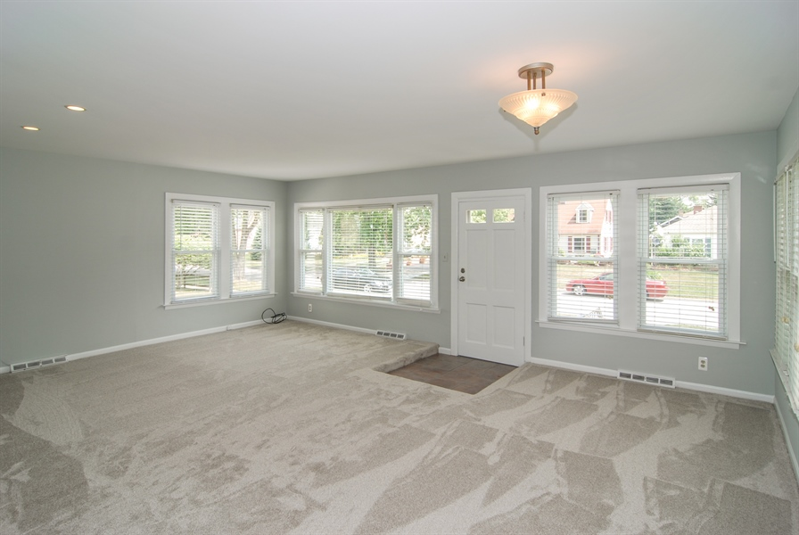 Real Estate Photography - 3438 McCormick Avenue, Brookfield, IL, 60513 - Living Room / Dining Room