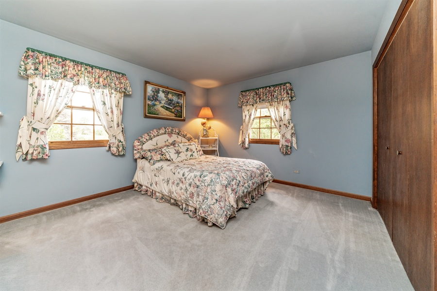 Real Estate Photography - 22W324 Hillcrest Terrace, Medinah, IL, 60157 - 2nd Bedroom