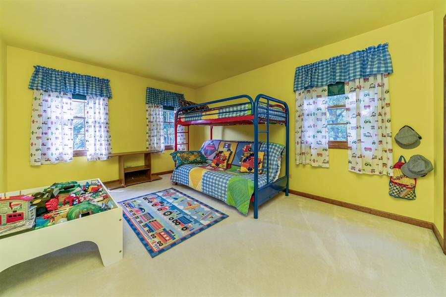 Real Estate Photography - 22W324 Hillcrest Terrace, Medinah, IL, 60157 - 4th Bedroom