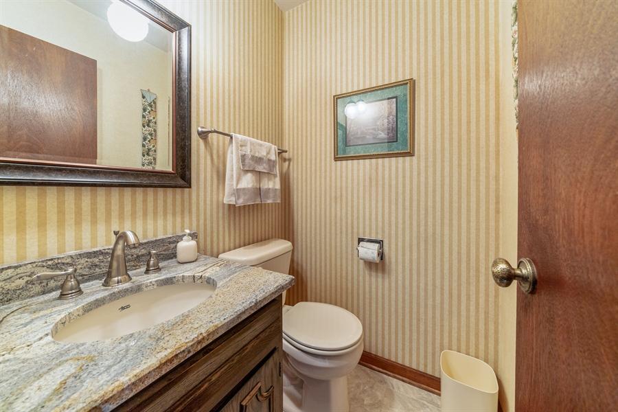 Real Estate Photography - 22W324 Hillcrest Terrace, Medinah, IL, 60157 - Powder Room