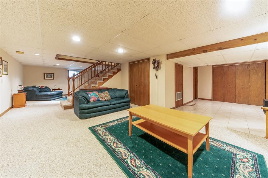 Real Estate Photography - 22W324 Hillcrest Terrace, Medinah, IL, 60157 - Basement