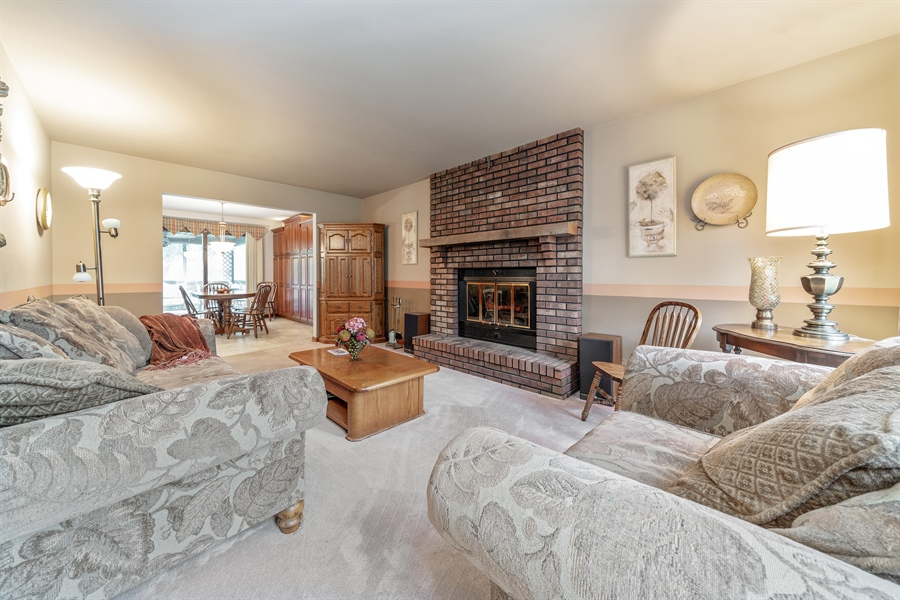 Real Estate Photography - 22W324 Hillcrest Terrace, Medinah, IL, 60157 - Family Room