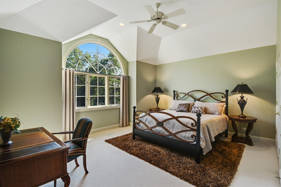 Real Estate Photography - 1 Porter School Road, Barrington Hills, IL, 60010 - 2nd Bedroom