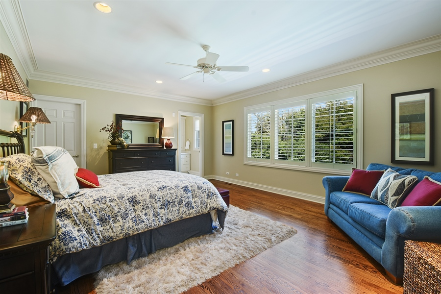 Real Estate Photography - 1 Porter School Road, Barrington Hills, IL, 60010 - 4th Bedroom