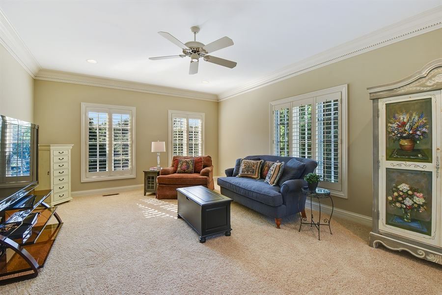 Real Estate Photography - 1 Porter School Road, Barrington Hills, IL, 60010 - Master Bedroom