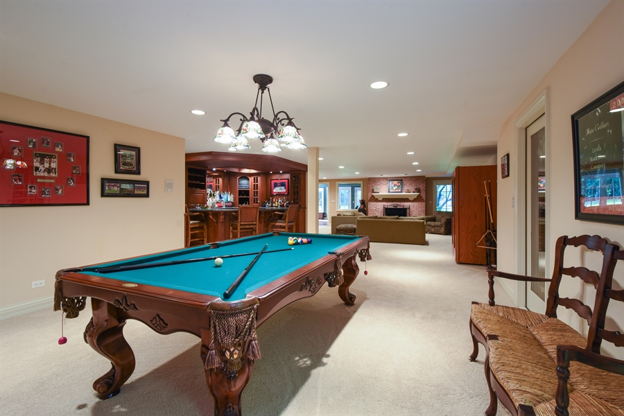 Real Estate Photography - 1 Porter School Road, Barrington Hills, IL, 60010 - Basement