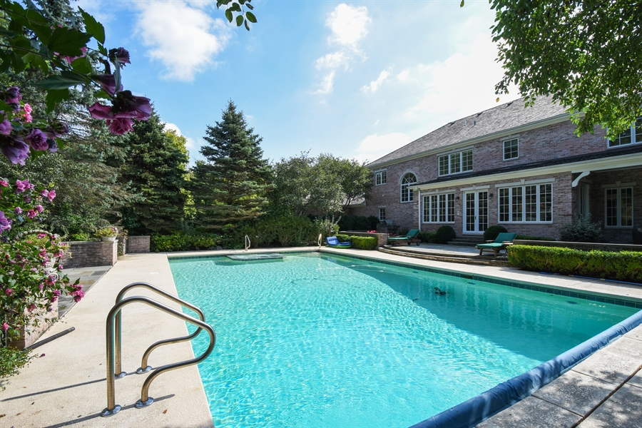 Real Estate Photography - 1 Porter School Road, Barrington Hills, IL, 60010 - Pool