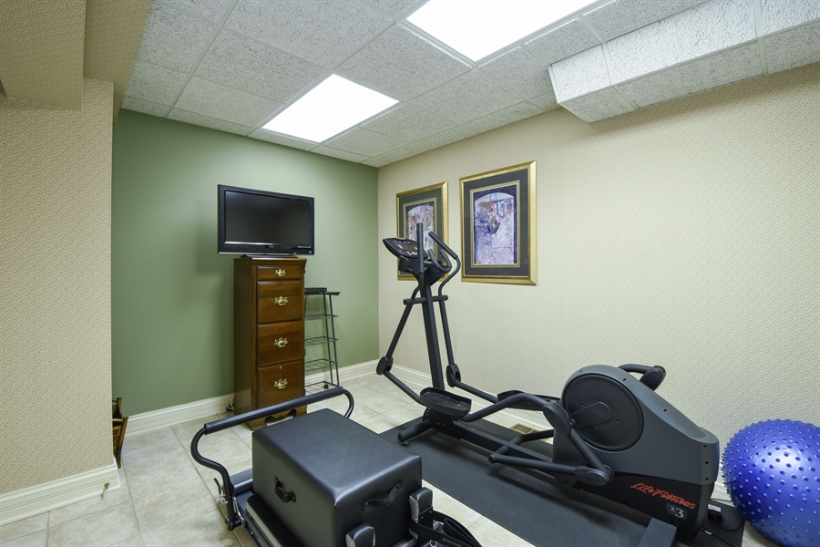 Real Estate Photography - 1 Porter School Road, Barrington Hills, IL, 60010 - Fitness Room