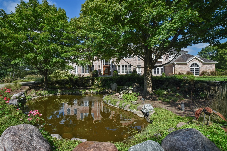Real Estate Photography - 1 Porter School Road, Barrington Hills, IL, 60010 - Pond