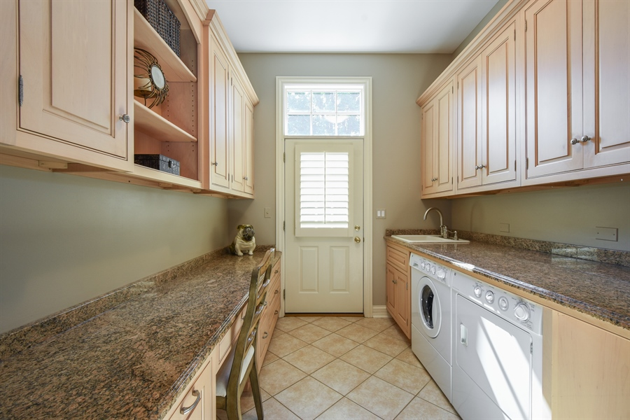 Real Estate Photography - 1 Porter School Road, Barrington Hills, IL, 60010 - Laundry Room