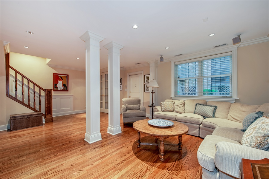 Real Estate Photography - 24 E Scott, Unit 1, Chicago, IL, 60610 - Lower Level