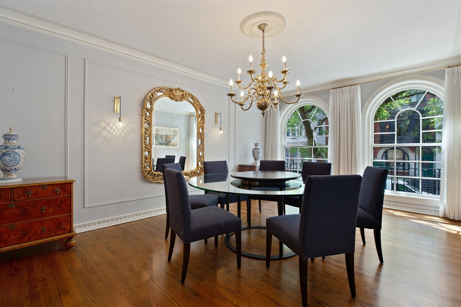 Real Estate Photography - 24 E Scott, Unit 1, Chicago, IL, 60610 - Dining Room