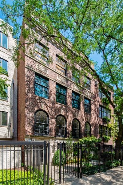 Real Estate Photography - 24 E Scott, Unit 1, Chicago, IL, 60610 - Front View